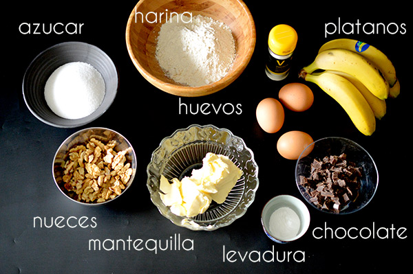ingredientes-banana-bread
