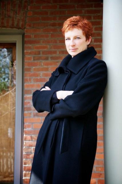 Director Alisa Palmer at home, February 2012