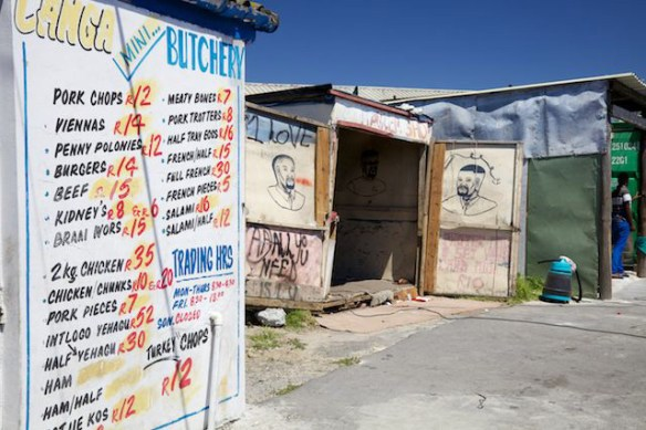 Shops in Langa Township, South Africa  (c) Allyson Scott