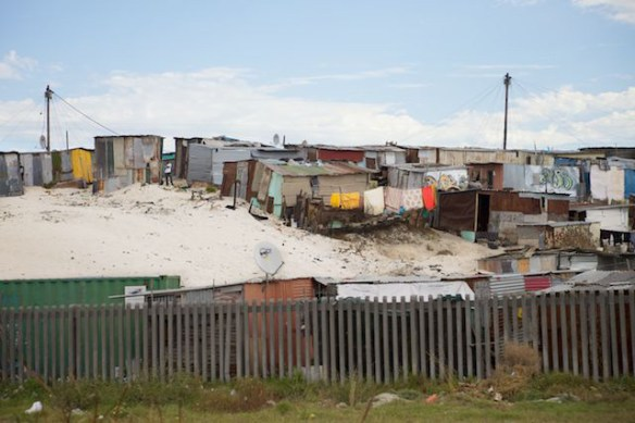 Khayelitsha Township, Western Cape, South Africa  (c) Allyson Scott