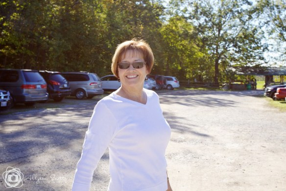 Mom at Applewood Farm Winery