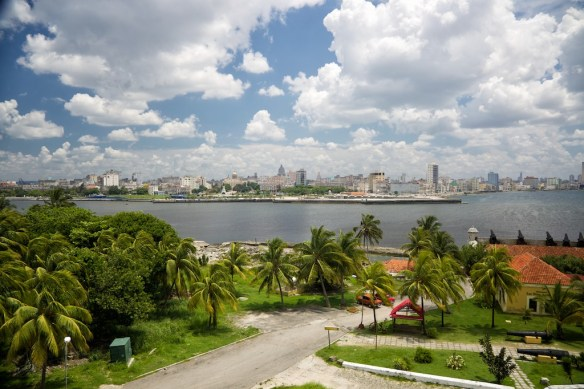 Old Havana skyline from Morro Castle