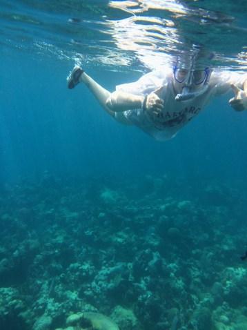 Jody snorkelling, Jibacoa