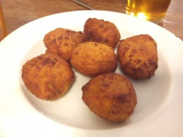 Croquetas caseras de jamón-jamón