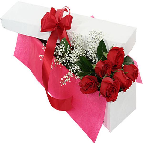 Caja de rosas 12 und