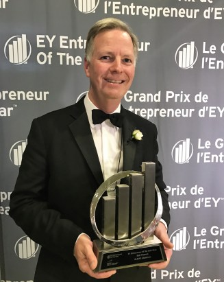 Bob Peacock - EY Entrepreneur Of The Year