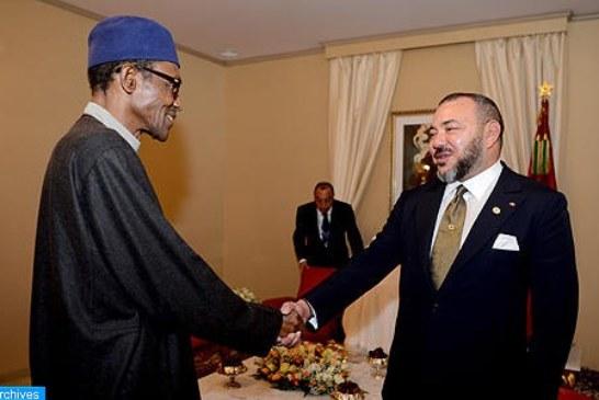 الملك والرئيس النيجيري يطلقان مشروع إنجاز خط أنابيب للغاز يربط نيجيريا والمغرب