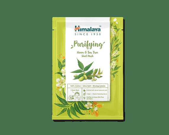 Sheet Mask 30ml - Purifying Neem & Tea-tree Sheet Mask_AED 10.40