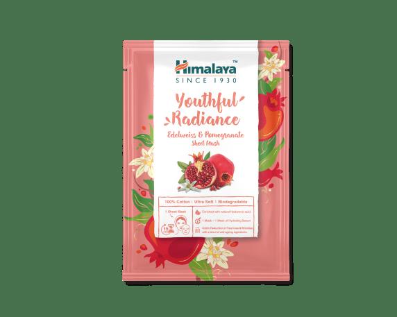 Sheet Mask 30ml - Youthful Radiance Edelweiss & Pomegranate Sheet Mask_AED 10.40