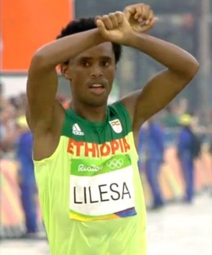 Lelisa Desisa, Rio Marathon Silver Medalist