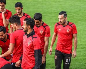 الأهلي يؤدي مرانه الثانى بتونس فى السابعة مساء ومحاضرة فيديو للاعبين
