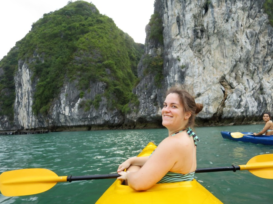 We did actually end up going kayaking, even though we were told at the booking office that it was illegal at this time.
