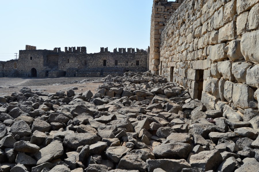 Azraq Castle, where the real-life Lawrence of Arabia based his operations during the Arab Revolt