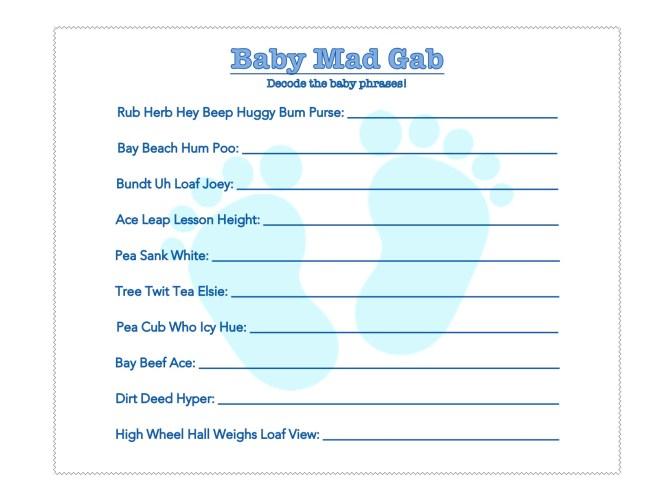 Baby Mad Gab