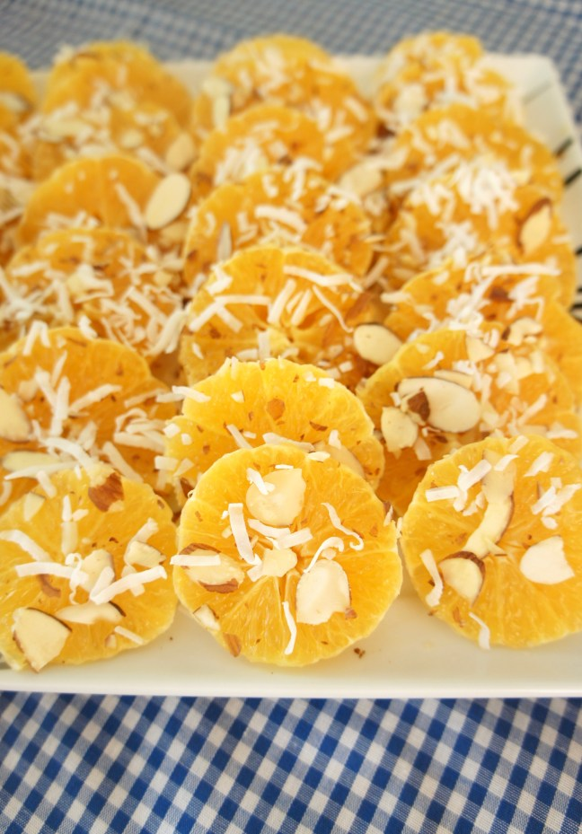 Orange Salad with Vanilla Syrup