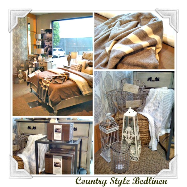 Country style bedlinen at domayne
