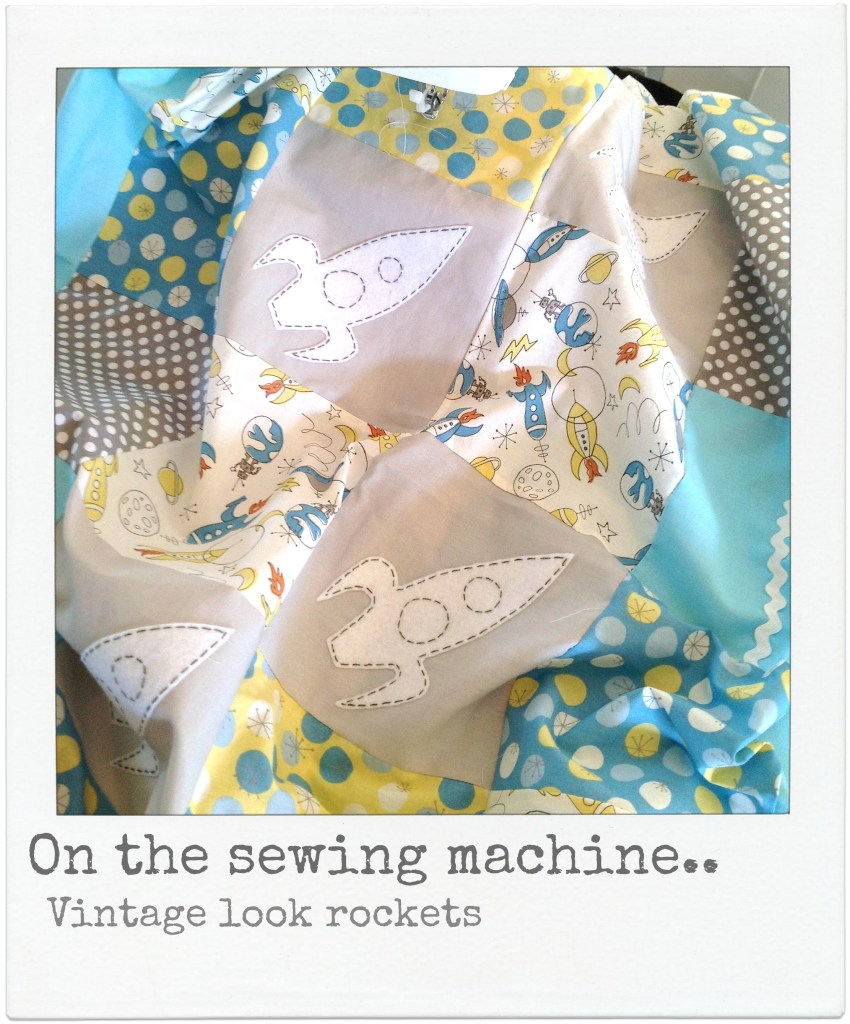 on the sewing machine at alphabet monkey