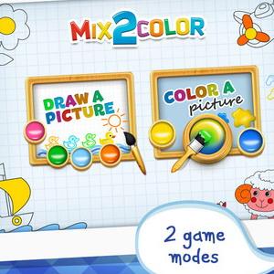 mix 2 color icon