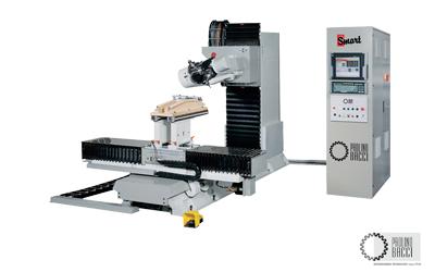 Smart – 5 Axes CNC Machining Center