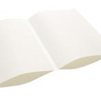 For- og bagsats papir – hvid