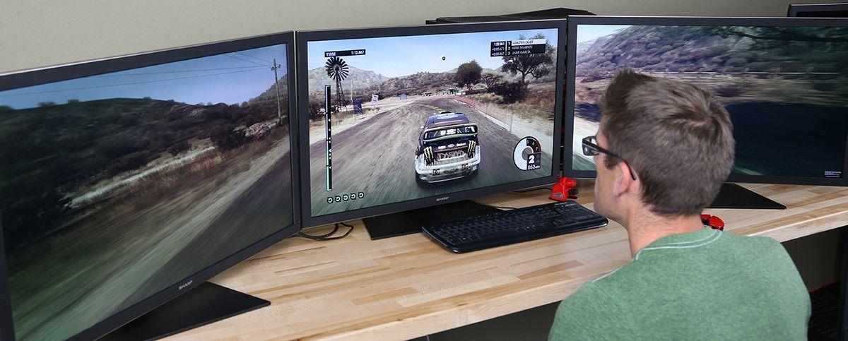 Alta Densidad u2013 Configurar dos o tres monitores en Windows y Linux