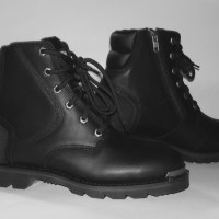 Mens motorcycle boots cruiser