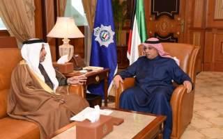 الجراح يتسلم دعوة حضور الاجتماع المقبل لمجلس وزراء الداخلية العرب