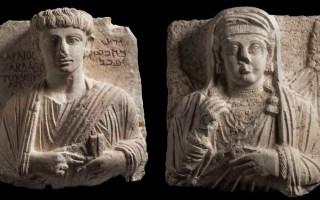 إيطاليا تعيد تمثالين قيمين من آثار تدمر لسوريا بعد ترميمهما