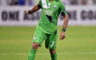 عمر السومة يقترب من لقب الهداف التاريخي للأهلي السعودي