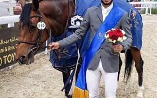 الفارس الحساوي يحرز المركز الأول في بطولة سيف أمير قطر لقفز الحواجز