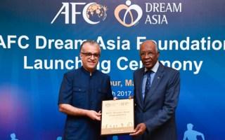 الاتحاد الآسيوي لكرة القدم يعلن إطلاق مؤسسة الحلم الآسيوي