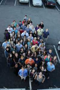 This of the 2011-12 DTH staff was taken on Feb. 23, 2012. The editor-in-chief was Steven Norton.