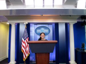 Tarini Parti covered the 2008 election for the DTH, and the 2016 election for Buzzfeed News.