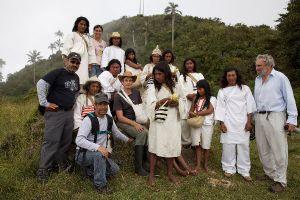 Aluna die Kogi-Indianer Ökozied