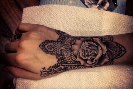 wrist tattoo designs for females