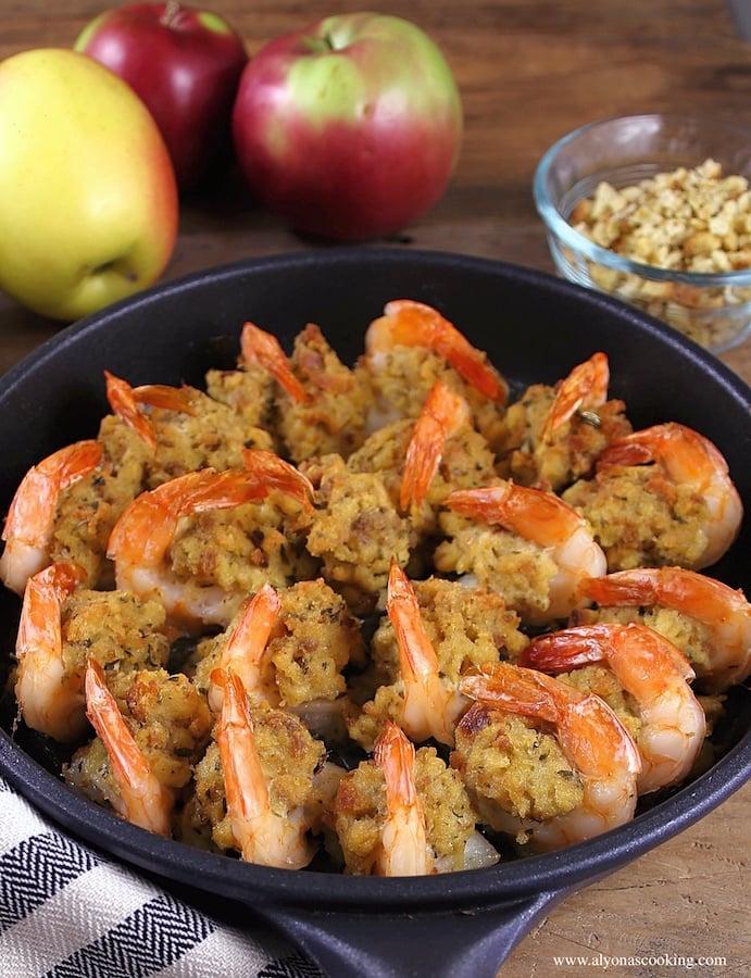 Stuffed Baked Jumbo Shrimp
