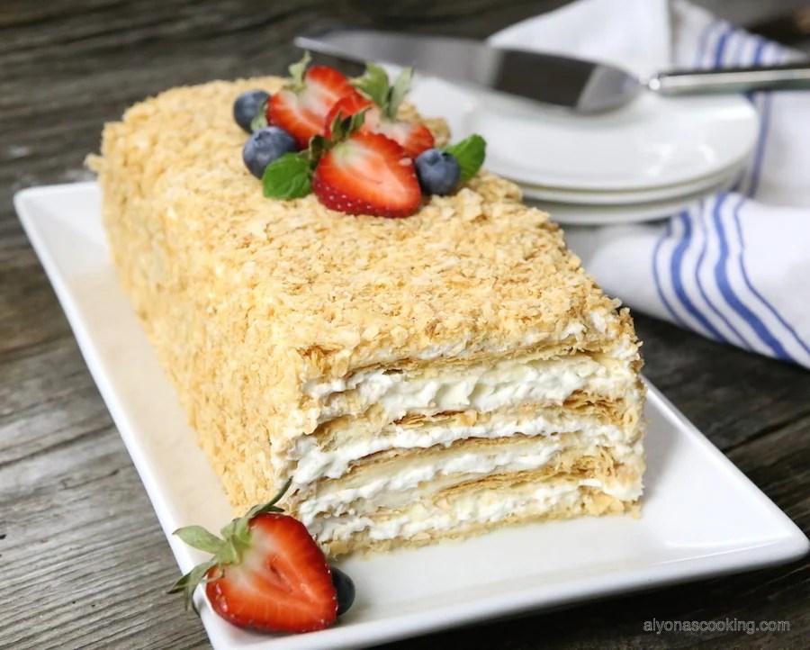 Easy Napoleon Cake