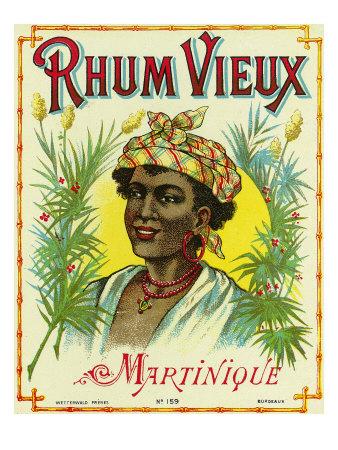 rhum view martinique