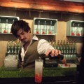 London Bloom Gin Pop Up, Strawberry fields