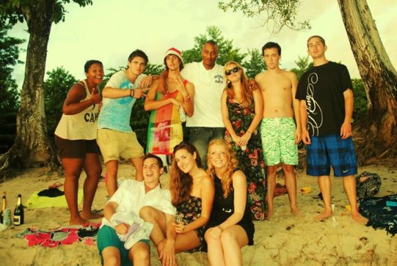 Christmas 2011 with the TAPIF Assistants in Martinique - Ste. Luce