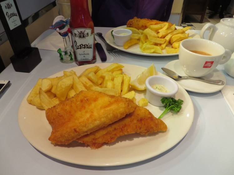 Poppie's Fish and Chips, Spitalfields