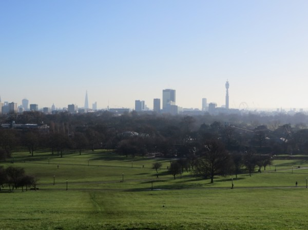 City of London view from Primrose Hill