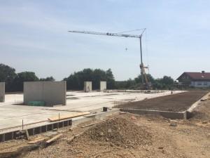 Baustelle bei Lingen 2015