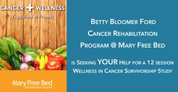 Cancer Survivorship Research at Mary Free Bed Cancer Rehabilitation Hospital