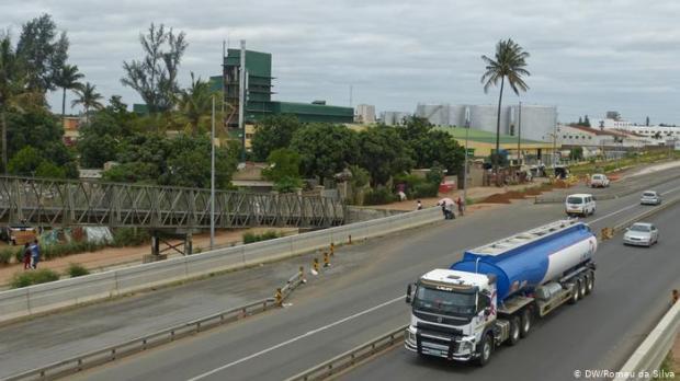 Axe routier entre Maputo et Matola