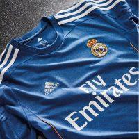 Seconda maglia del Real Madrid 2013-14 è blu