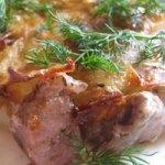 Запеканка картофельная со свининой