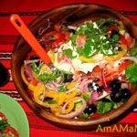 Греческий салат (хорьятики салата)
