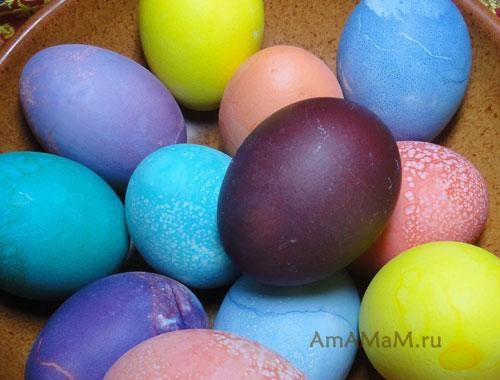 Яркие картинки с пасхальными яйцами