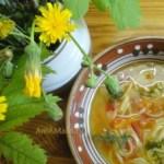 Суп-лапша с помидорами